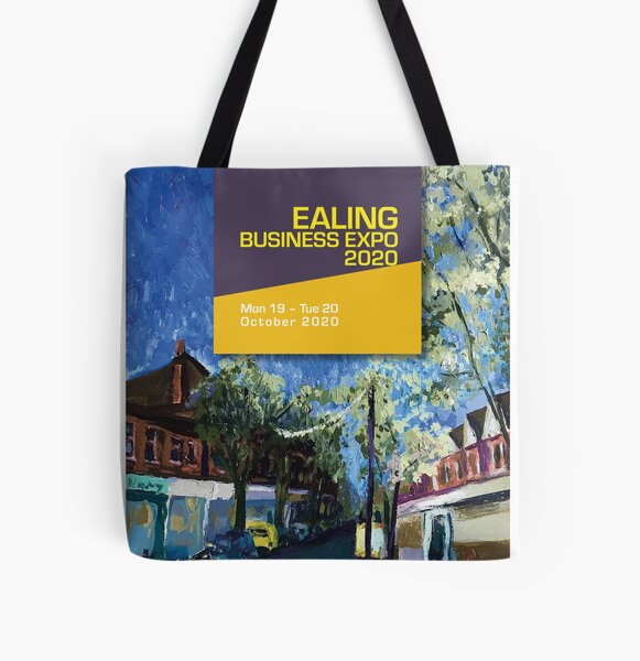 Supporting Ealing businesses All Over Print Tote Bag