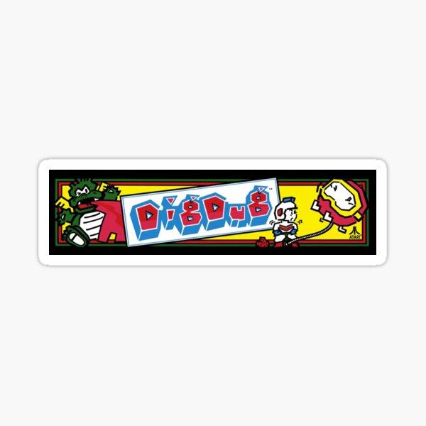Graben gegrabene Arcade Sticker