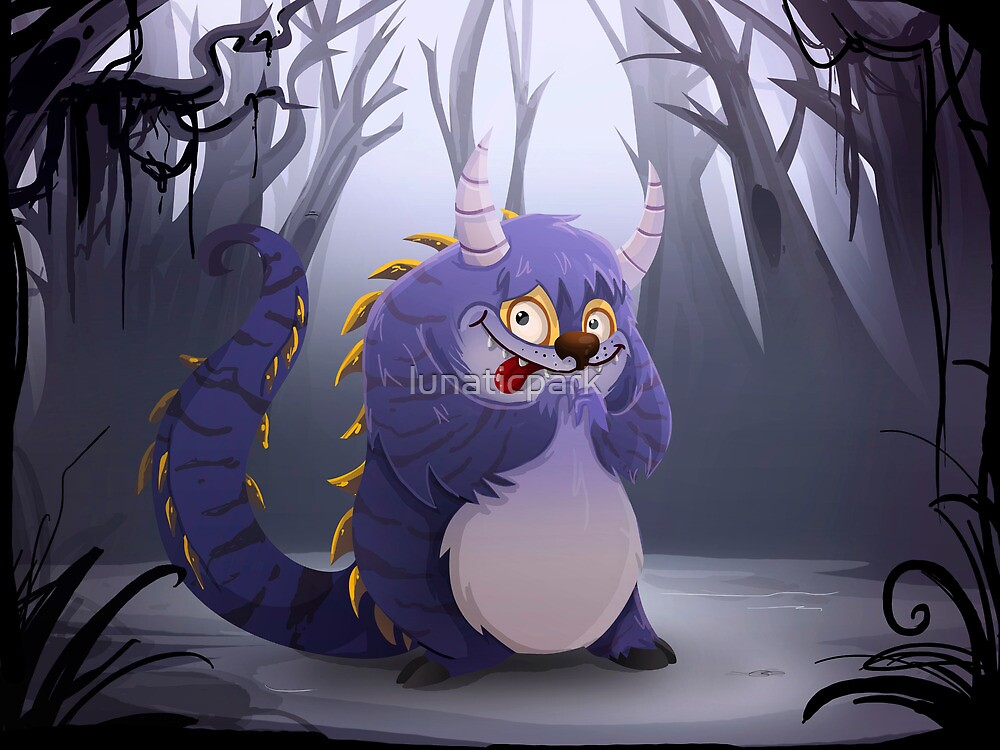 Jeremy the monster by lunaticpark
