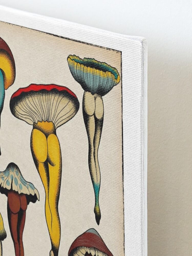 Alternate view of Sexy mushrooms tattoo flash Mounted Print