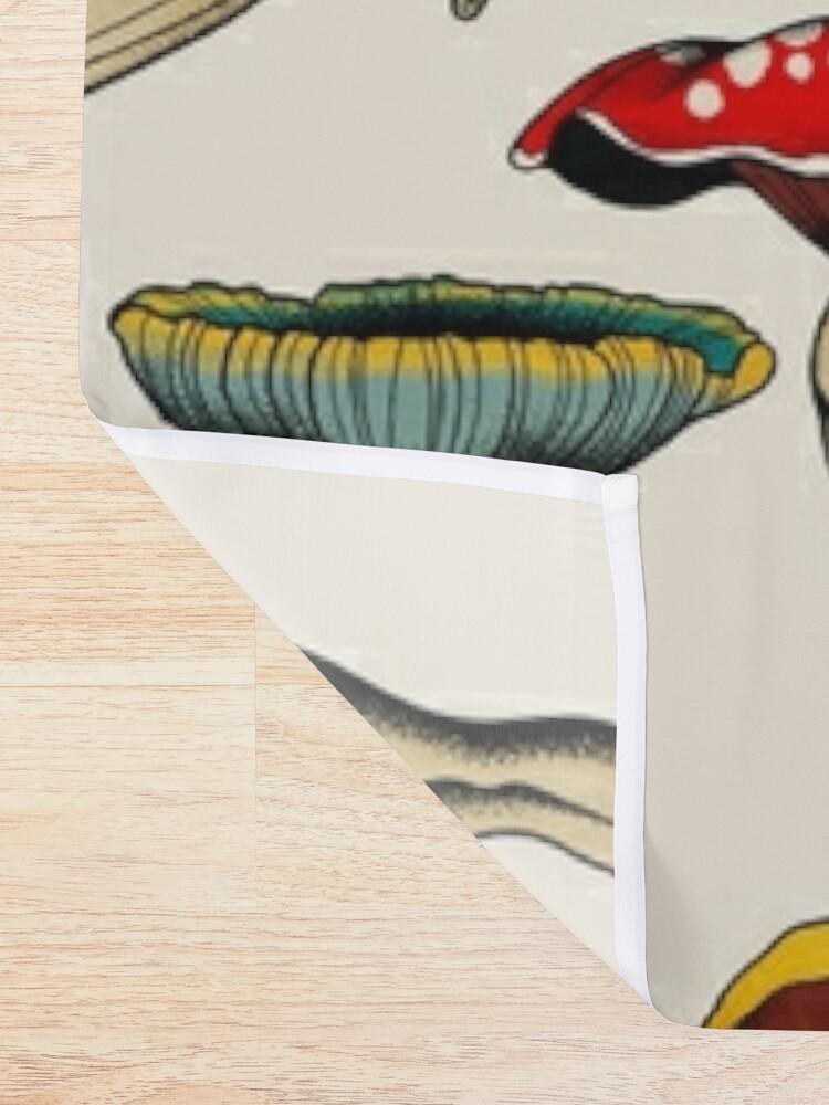 Alternate view of Sexy mushrooms tattoo flash Shower Curtain