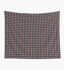 Red and blue abstract swirl Wall Tapestry