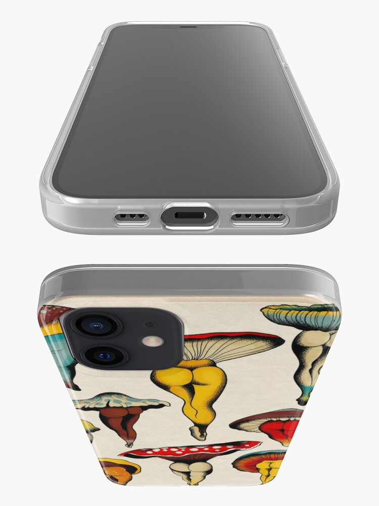 Alternate view of Sexy mushrooms tattoo flash iPhone Case & Cover