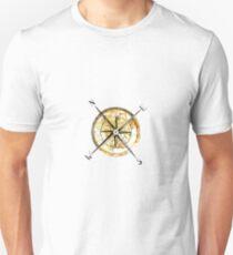 """""""Kompass"""" Slim Fit T-Shirt"""