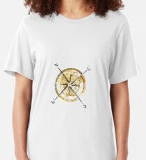 """Compass"" Slim Fit T-Shirt"