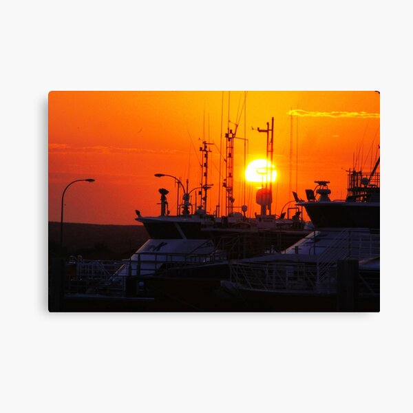Exmouth Harbour Canvas Print
