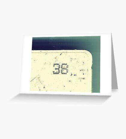 Number 38 Greeting Card