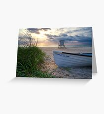 Palm Beach Sunrise Greeting Card