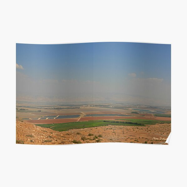 Landscape from the Gilboa Poster