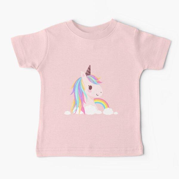 Cute baby unicorn Baby T-Shirt