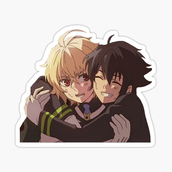 Mika and Yuu (Seraph of the end) Sticker