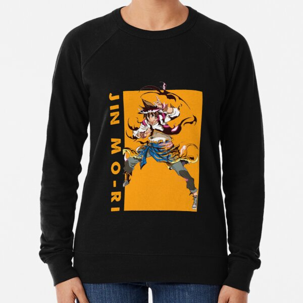 Mori Jin - the God of Highschool anime Lightweight Sweatshirt