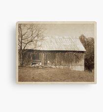 Tennessee Farm Vintage Barn Canvas Print