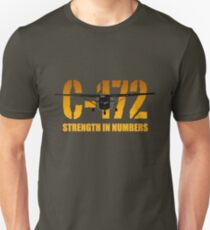 """Cessna C-172 """"Strength in Numbers"""" Unisex T-Shirt"""