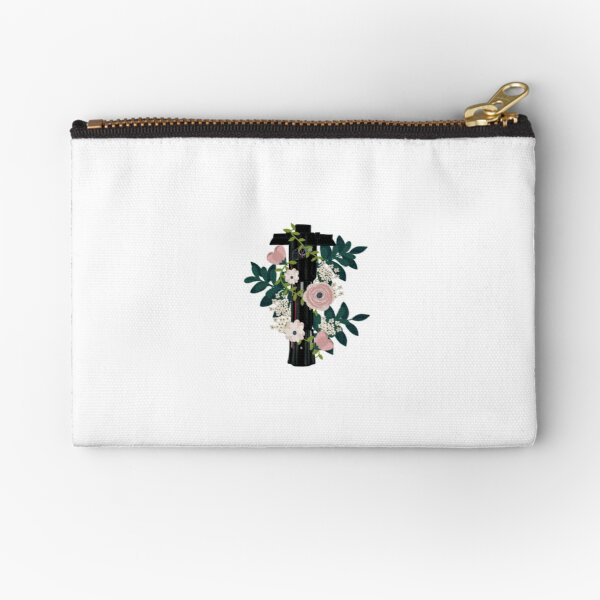 kylo saber with flowers Zipper Pouch
