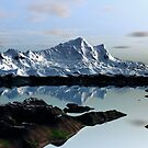 Alpine Reflections by Hugh Fathers