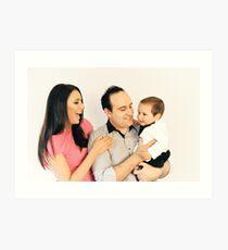 Agushi family (2) Art Print