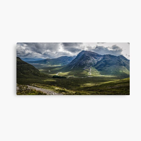 Mountains of Glencoe from the Devils Staircase, Scotland Canvas Print