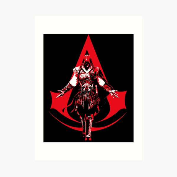 Assassins Creed Symbol Art Prints Redbubble