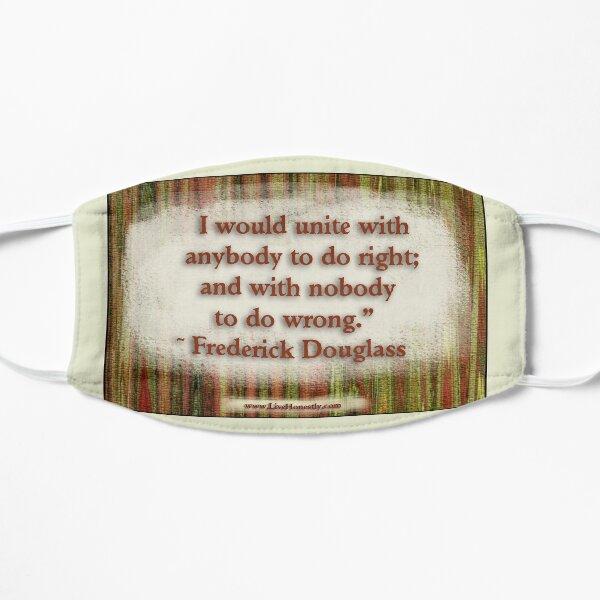 Frederick Douglass Quote Mask
