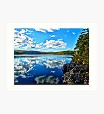 Reflections HDR Art Print