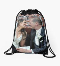 Pina & Mauro Drawstring Bag