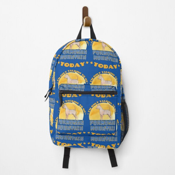 Formosan Mountain Dog I am Only Talking To My Dog Today Backpack