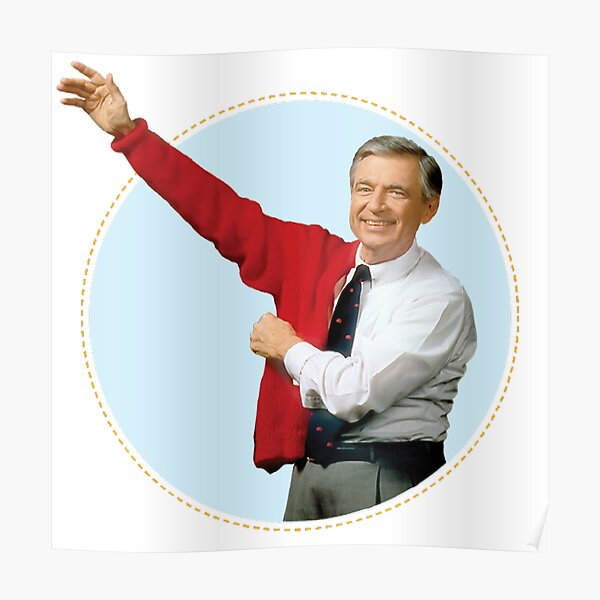 Fred Rogers Poster