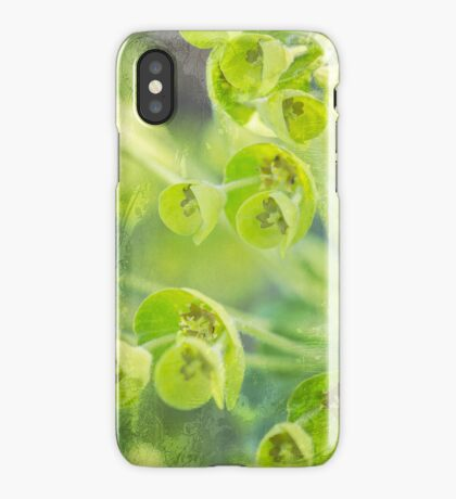Green is the color of Spring iPhone Case