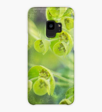 Green is the color of Spring Case/Skin for Samsung Galaxy