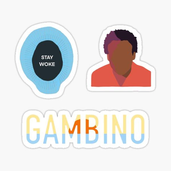 Childish Gambino 3PACK Sticker