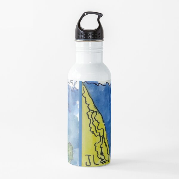 'Seahorses need water too' by Jude Limberiou  6 years old  Australia Water Bottle