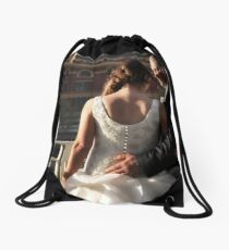 And then he found her. Drawstring Bag