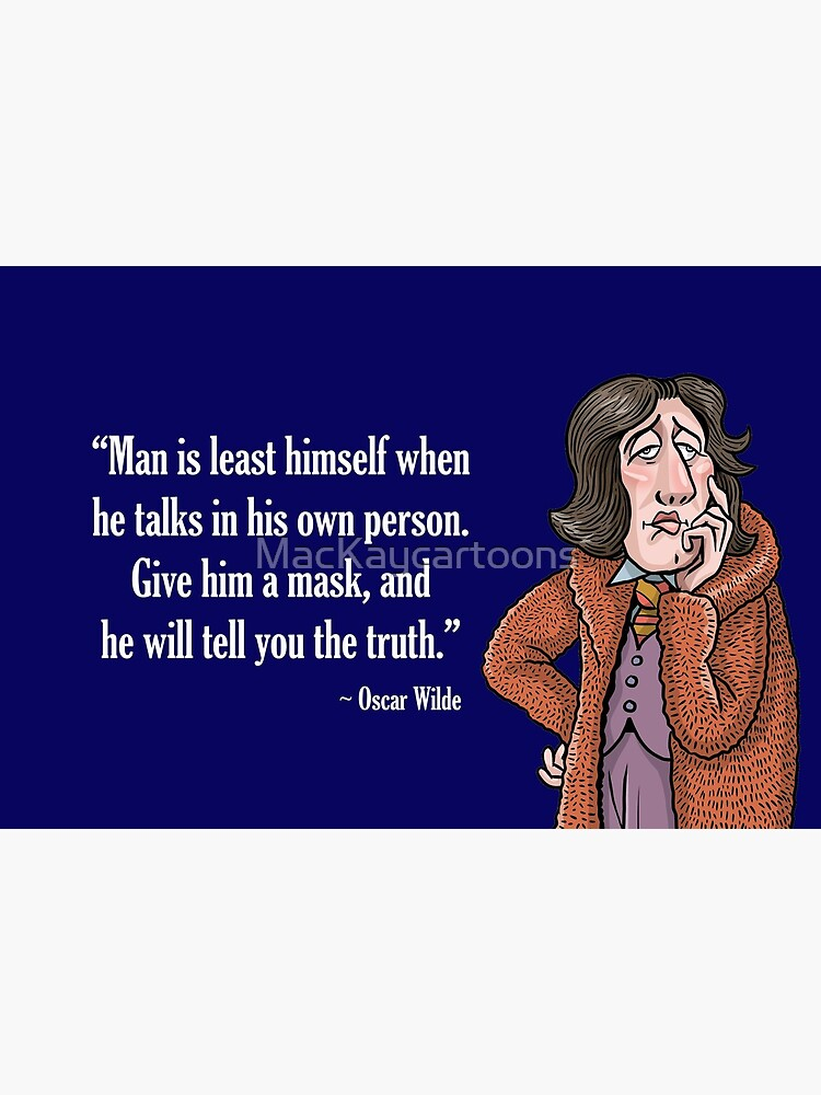 Oscar Wilde by MacKaycartoons