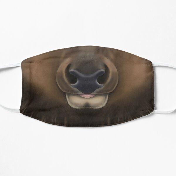 Elk Face Flat Mask