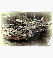 Buoys & Boats Poster