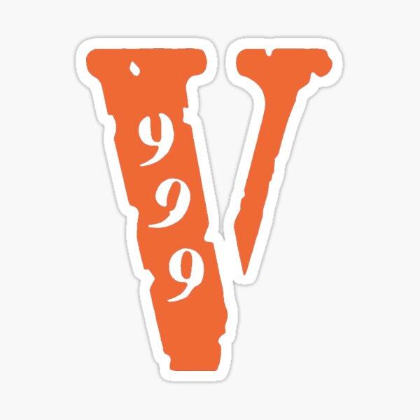 999 VLONE Sticker Sticker