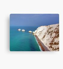 The Needles - I.O.W. Canvas Print