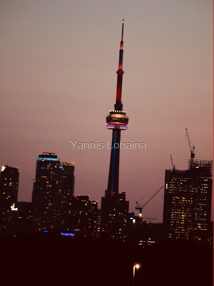 Toronto by Night By Yannis Lobaina  by lobaina1979