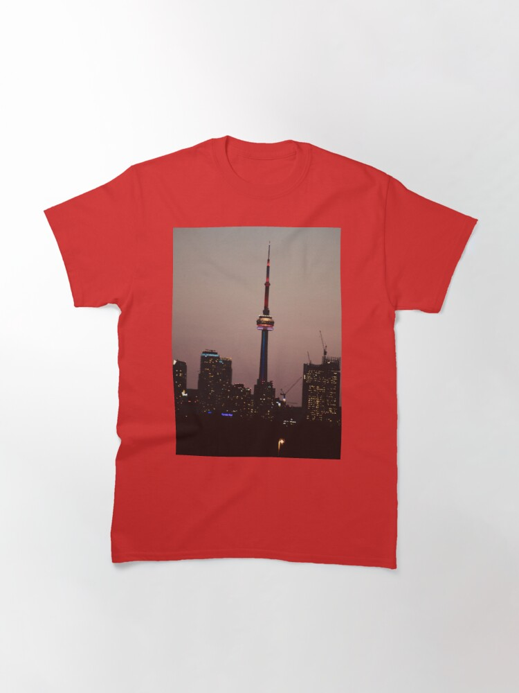 Alternate view of Toronto by Night By Yannis Lobaina  Classic T-Shirt