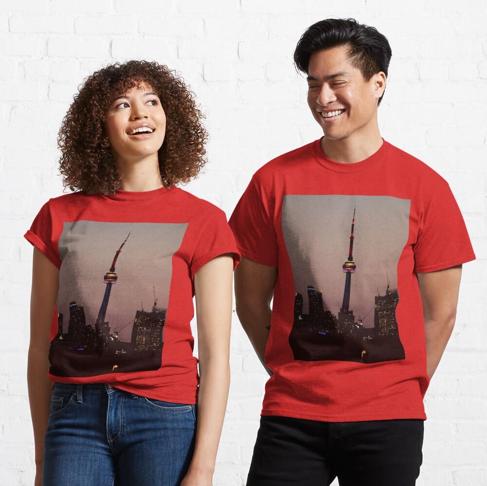 Toronto by Night By Yannis Lobaina  Classic T-Shirt