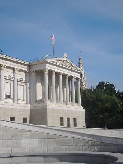 Vienna Parliament by CreativeEm