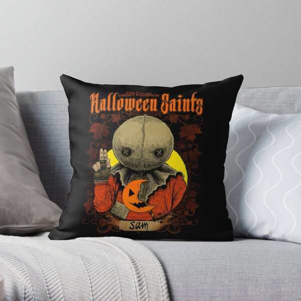 Halloween Saints: Sam Throw Pillow