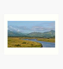 Gwynedd Estuary Art Print