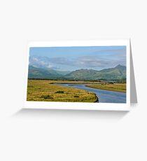 Gwynedd Estuary Greeting Card
