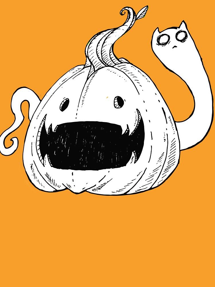 Pumpkin Spirit (White) by CorianderDez