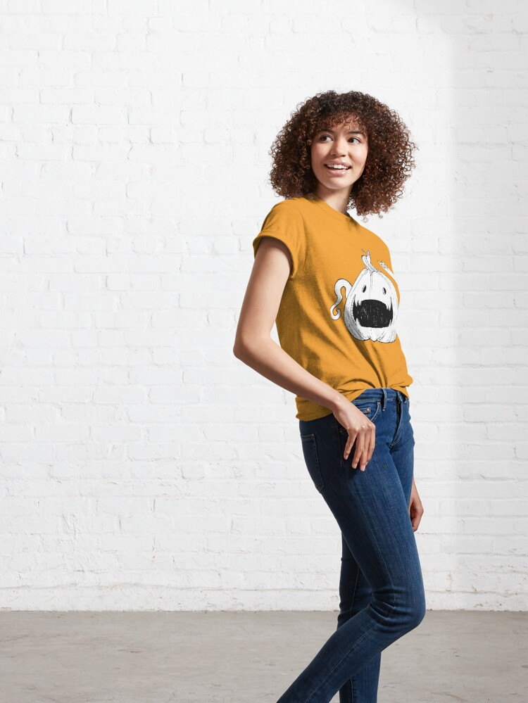 Alternate view of Pumpkin Spirit (White) Classic T-Shirt