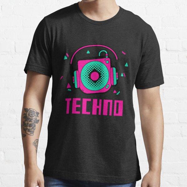 techno - lentille amelie - lentille dj amelie - acide T-shirt essentiel