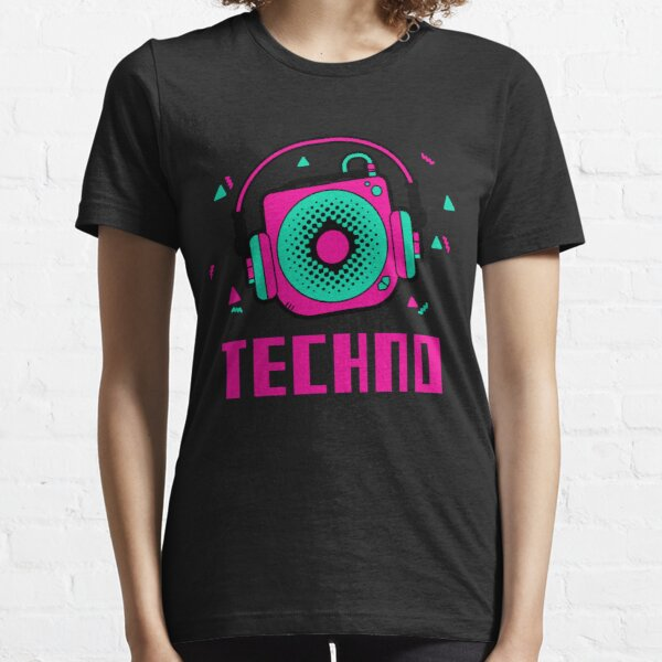 techno - lente amelie - lente dj amelie - ácido Camiseta esencial