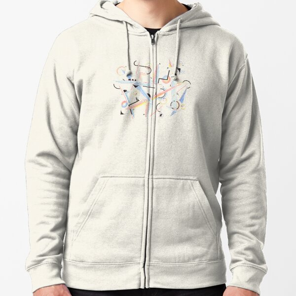 Jazz (Abstract)  Zipped Hoodie